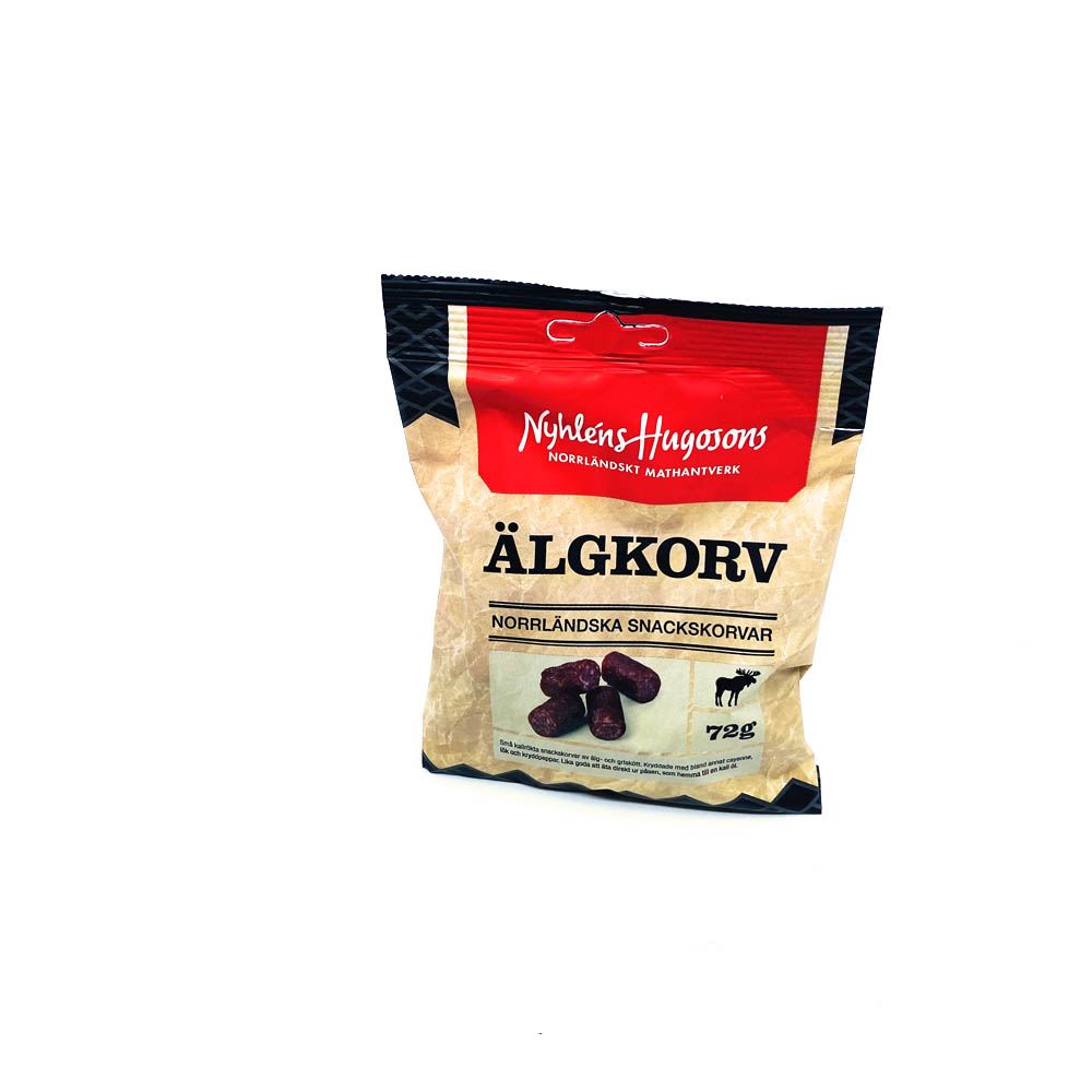 Älgkorv snacks