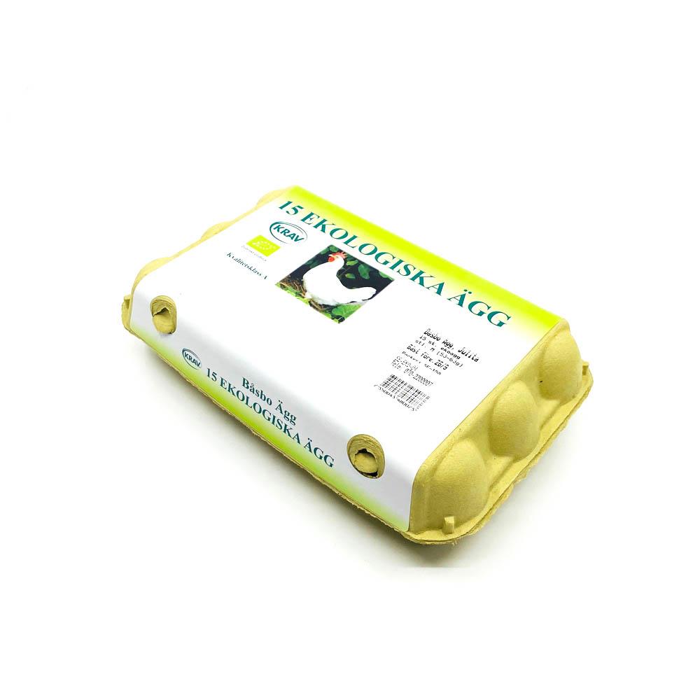 Ekologiska Ägg 15-pack