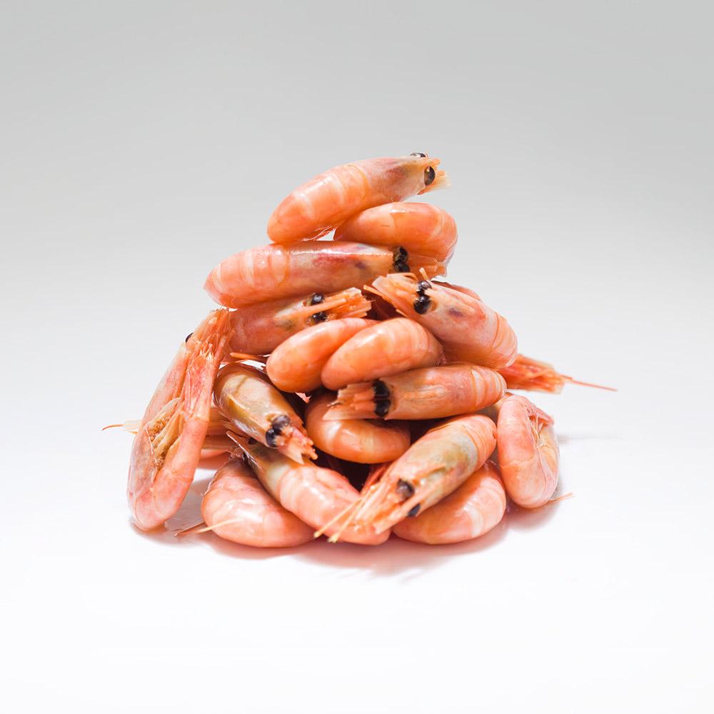 Frysta räkor 80/100 5 kg kartong