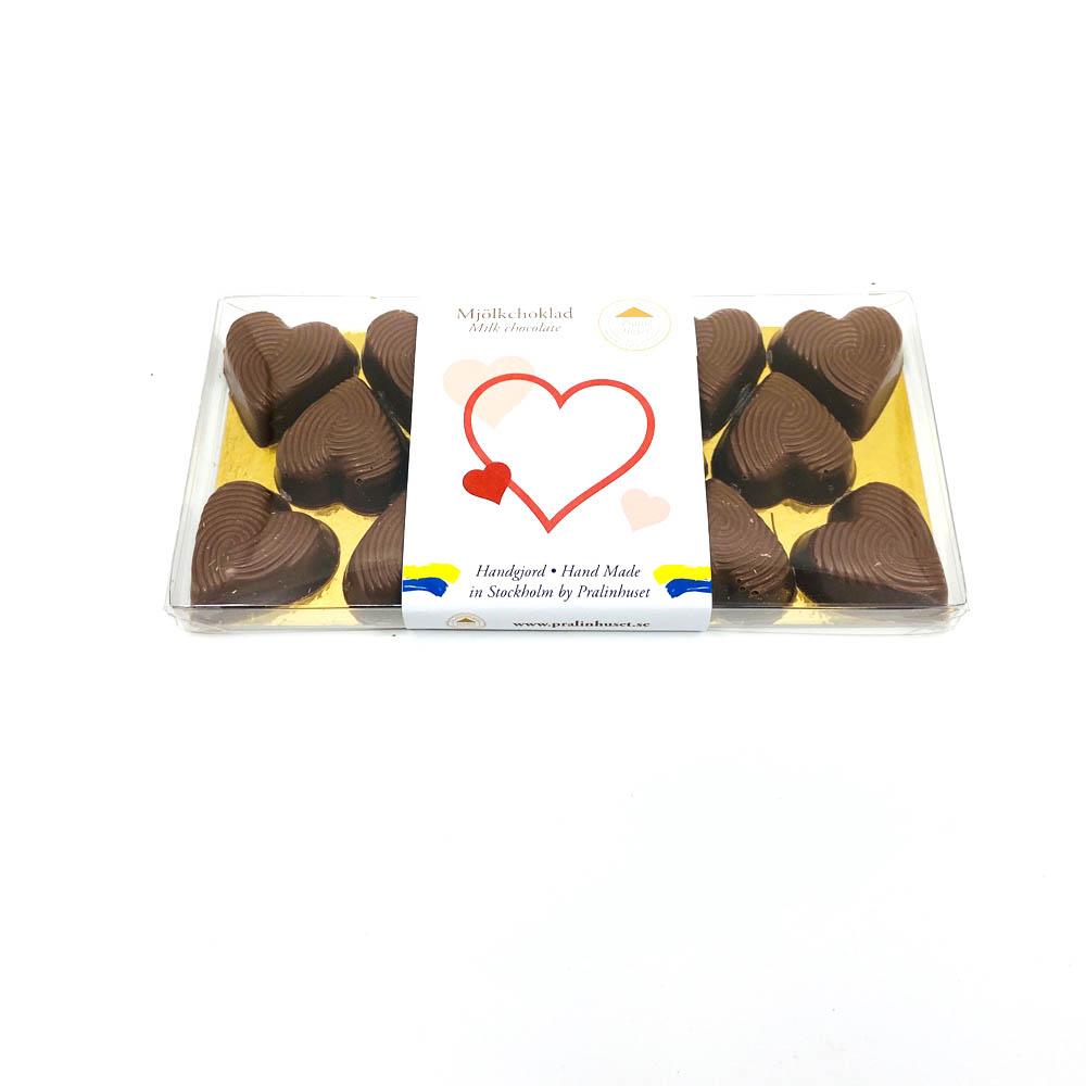 Choklad - Hjärtan 40%