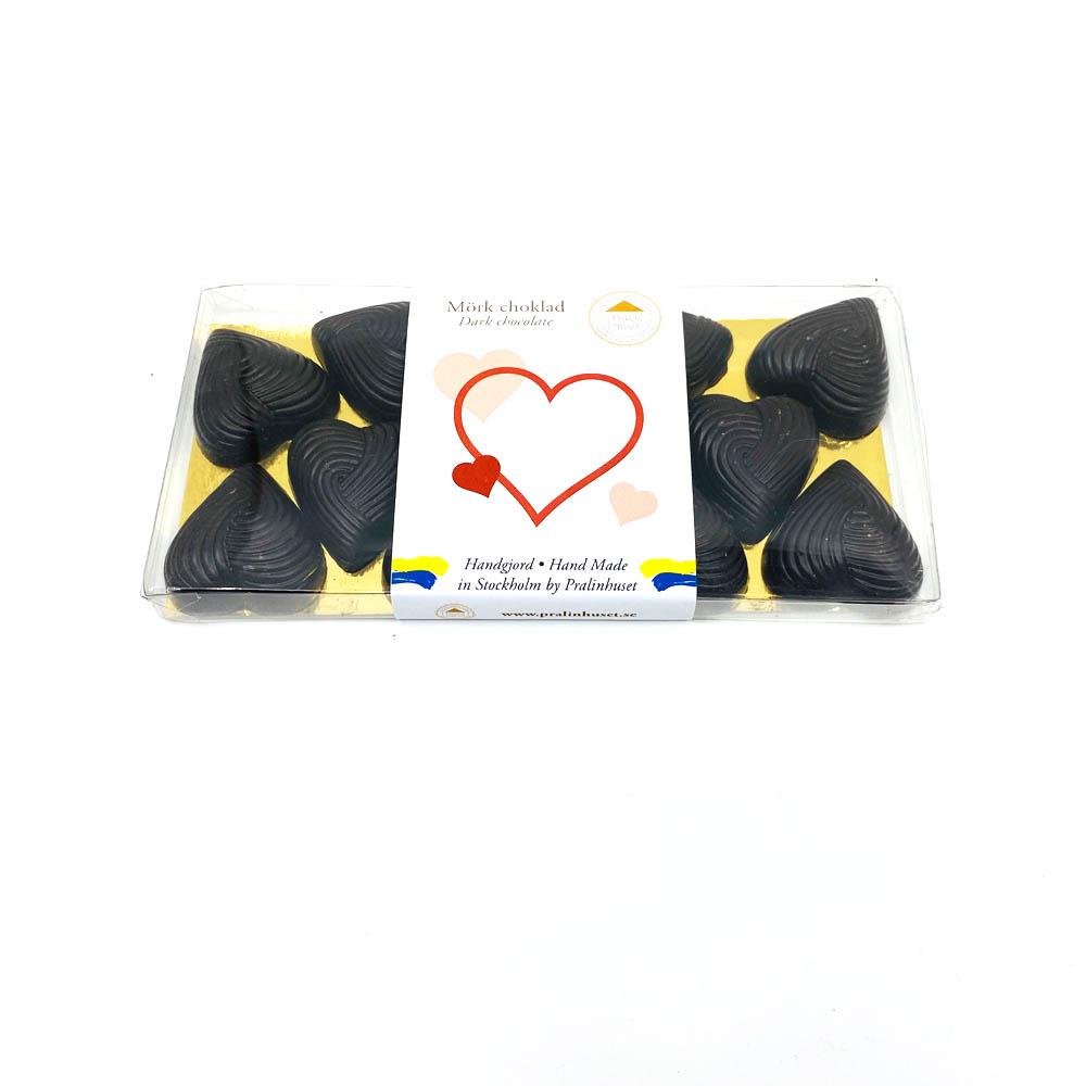 Choklad - Hjärtan 70%