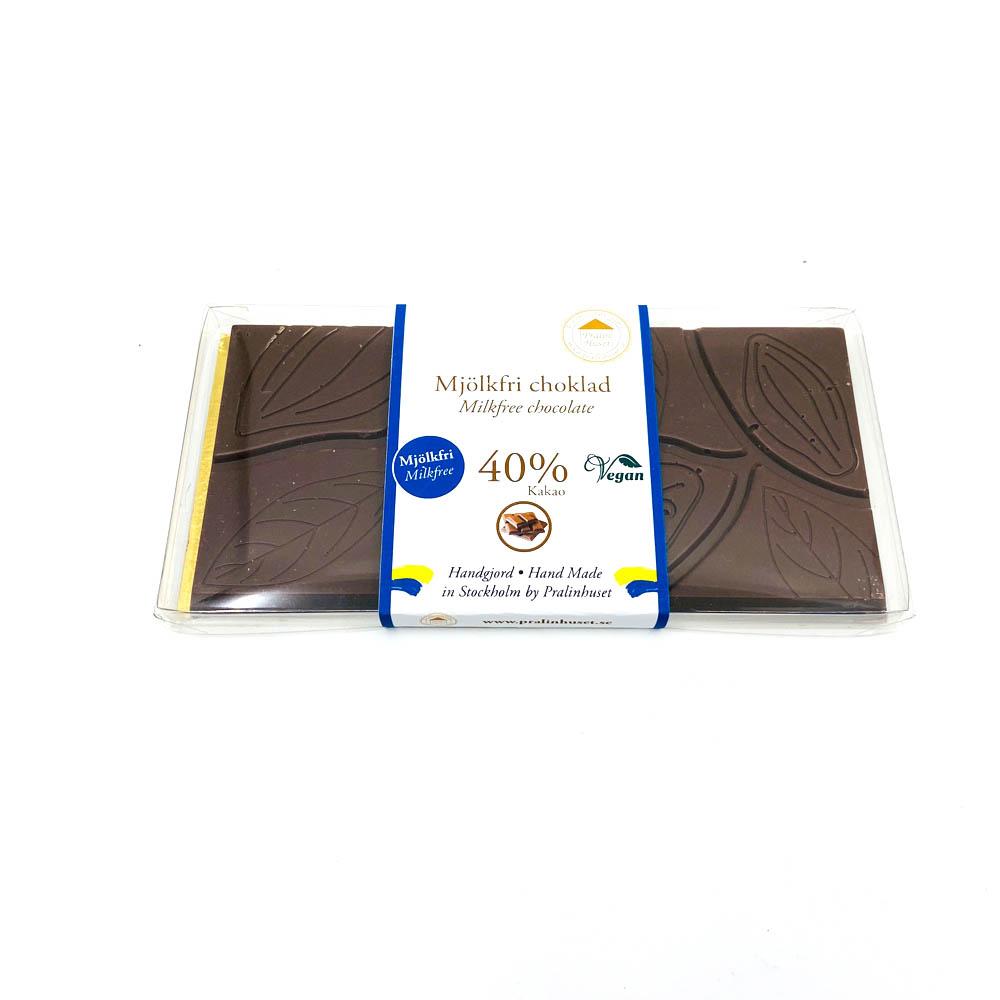 Choklad - Mjölkfri kokos/hallon ljus
