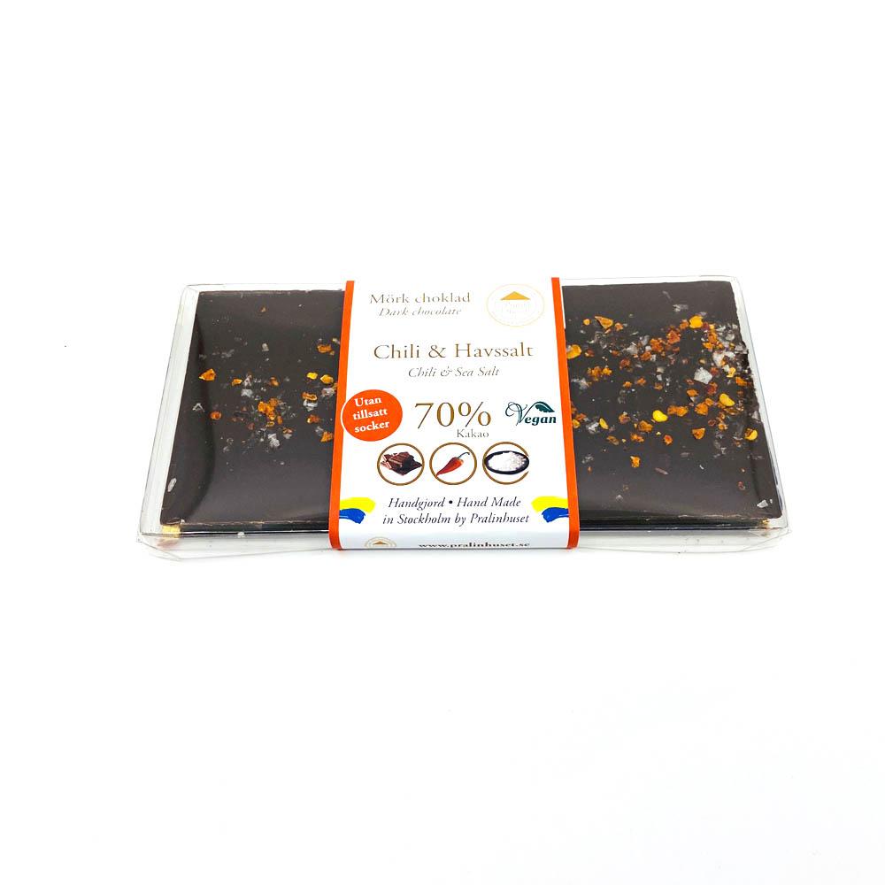 Choklad - Chilihavssalt sockerfri