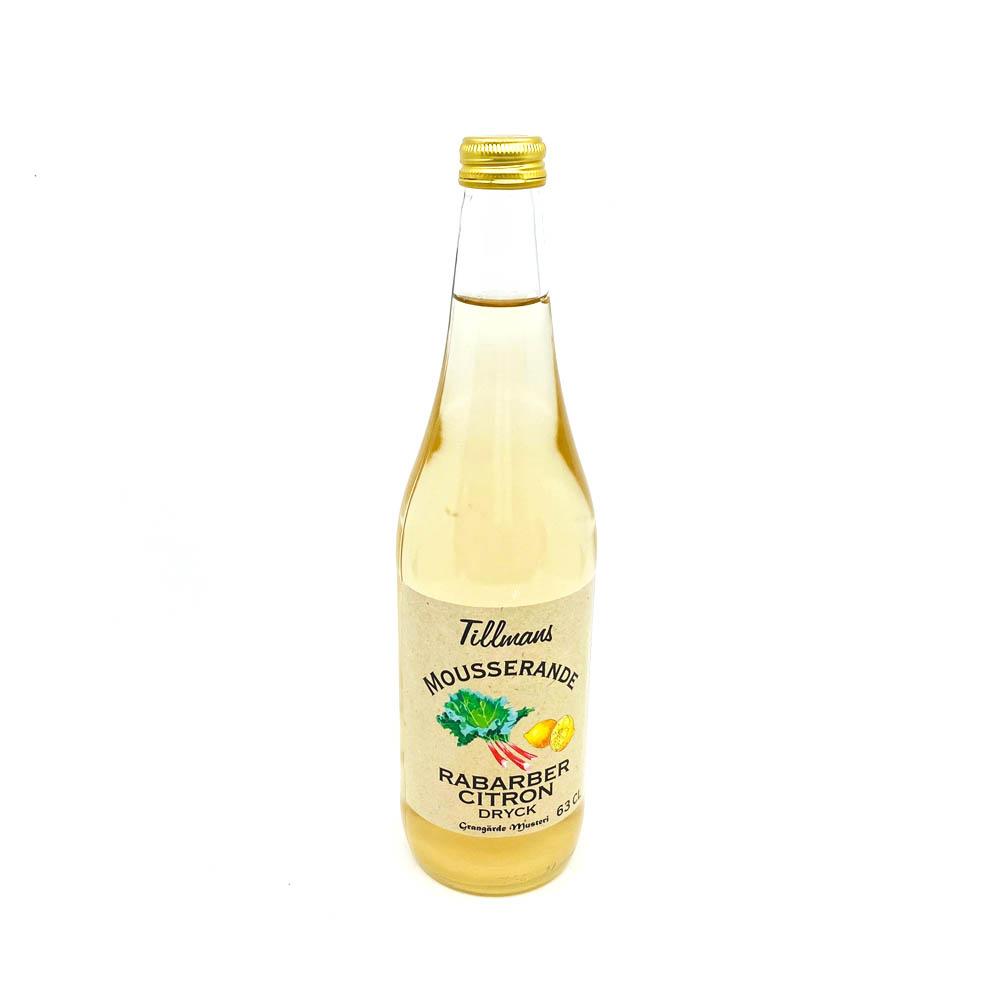 Rabarber/citron dryck