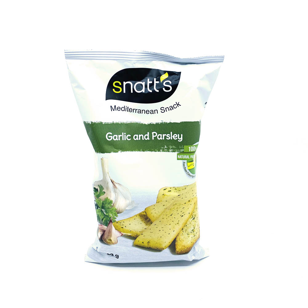 Snatts-garlic/Vitlöks kex