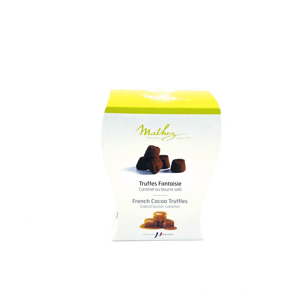 Chokladtryffel - Karamell o saltsmak