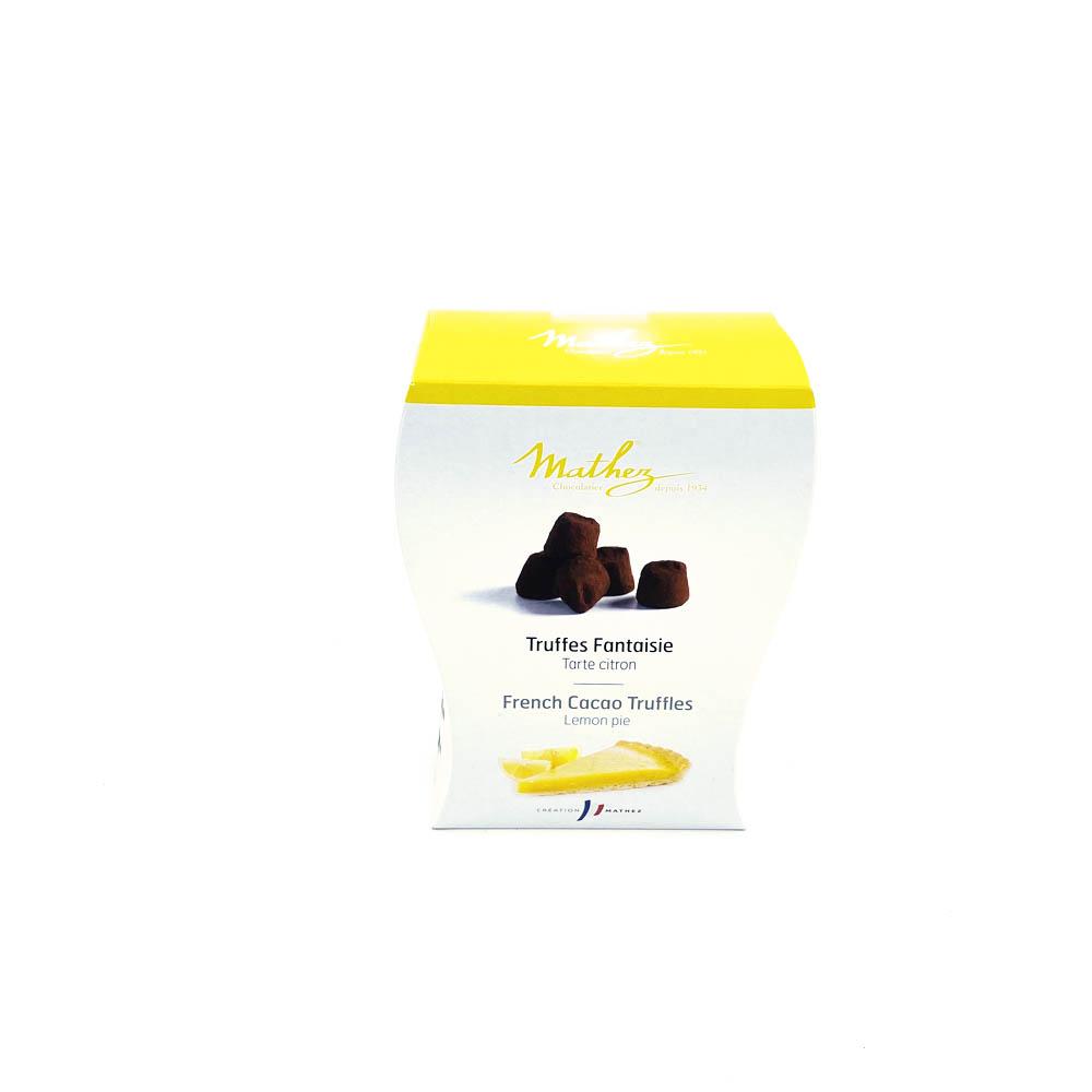 Chokladtryffel - citronsmak